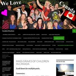 Mass Graves of Children in Canada
