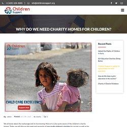 Importance of Child Donation Organization