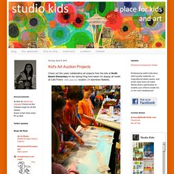 Studio Kids - Children's Art Classes in Ballard, Seattle: Kid's Art Auction Projects