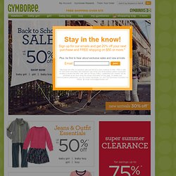 Children's Clothing, Kids Clothing, Baby Clothing, and Toddler Clothes at Gymboree
