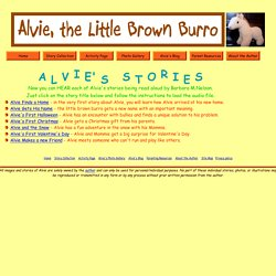 Children's Story Collection - Alvie, Little Brown Burro
