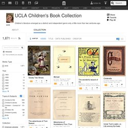UCLA Children's Book Collection : Free Books : Free Texts : Free Download, Borrow and Streaming
