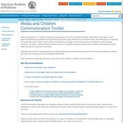 Media and Children