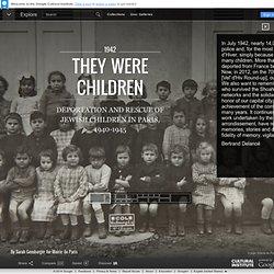 They were children - Google Cultural Institute