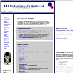 Design Briefs Children's Engineering Free Resources
