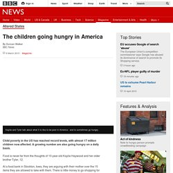 The children going hungry in America - BBC News