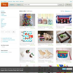 children crafts on Etsy, a global handmade and vintage marketplace.