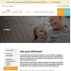 Children Hearing Services I Attune Hearing