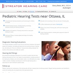 Children Hearing Tests in Streator, IL