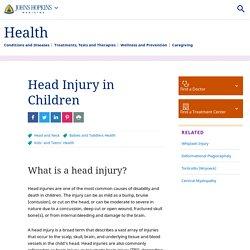 Head Injury in Children