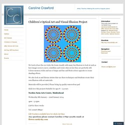 Children's Optical Art and Visual Illusion Project