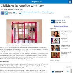 Children in conflict with law