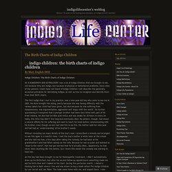 The Birth Charts of Indigo Children « Indigolifecenter's Weblog