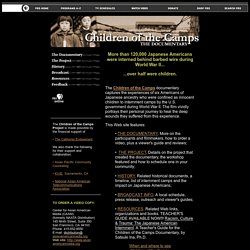 Children of the Camps: the Japanese American WWII internment camp experience