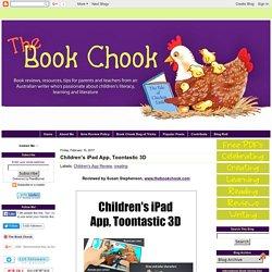 Children's iPad App, Toontastic 3D