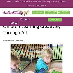 Children Learning Creatively Through Art