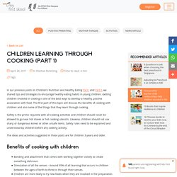 Children Learning through Cooking (Part 1)