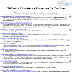 Children's Literature - Resources for Teachers