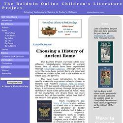 The Baldwin Online Children's Literature Project...Bringing Yest