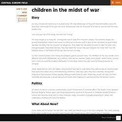 children in the midst of war – Central Europe Field