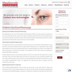 Children's Eye Care Treatment in Mississauga, On