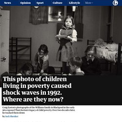This photo of children living in poverty caused shock waves in 1992. Where are they now?