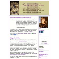 Sophia's Children: Powerful Quotations