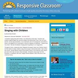 Singing with Children