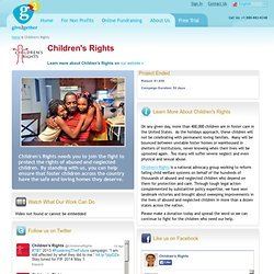 Children's Rights | give2gether