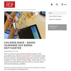 Children Make - barns skapande och barns rättigheter