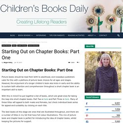 Top 10 Children's Books for Starting Out on Chapter Books!