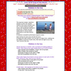 Free Children's Music Song of the Month by Nancy Stewart, Seattle Washington