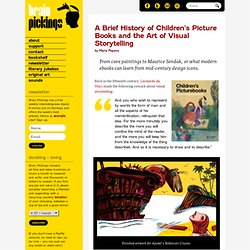 A Brief History of Children's Picturebooks and the Art of Visual Storytelling