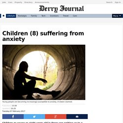 Children (8) suffering from anxiety