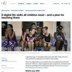 8 digital life skills all children need – and a plan for teaching them