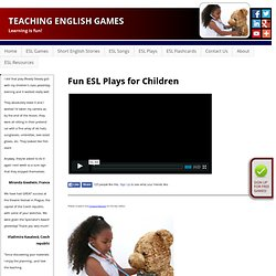 Fun ESL Plays for Children