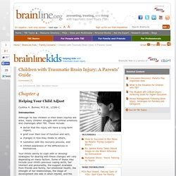 Children with Traumatic Brain Injury: A Parents' Guide