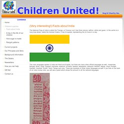 Children United! - Facts about India