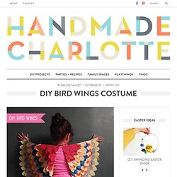 DIY Bird Wings for Children :: vintage + modern design for kids and the home