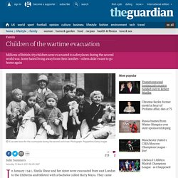 Children of the wartime evacuation