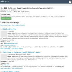 Top 100 Children's Book Blogs and Websites for Parents, Teachers and Kids in 2020