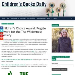 Children's Choice Award: Puggle Award for the The Wilderness Society