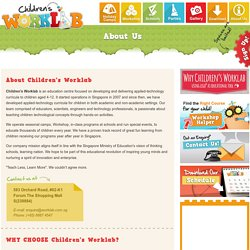 Children's Worklab Singapore