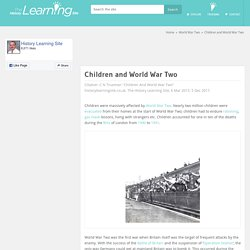 Children and World War Two