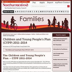 Children and Young People's Plan (CYPP) 2011-2014