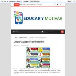 Juegos lúdicos interactivos - EDUCAR Y MOTIVAR