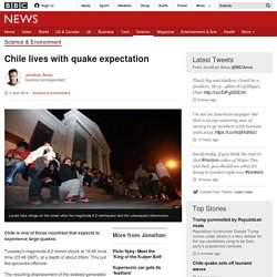 Chile lives with quake expectation