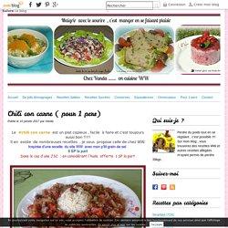 Chili con carne ( pour 1 pers)