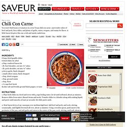 Chili Con Carne Recipe