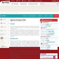 Chili : Sports et loisirs